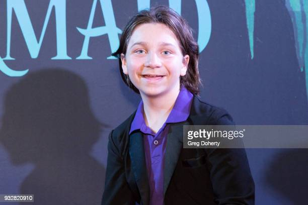 Actress/Influencer Bryson Robinson attends the New Interactive Live Stage Show Of Disney's 'The Little Mermaid' at the El Segundo Performing Arts...
