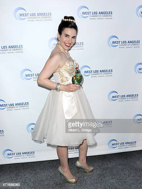 Actress/journalist Vida Ghaffari at The West Los Angeles Chamber Of Commerce's Ceremony Honoring Actress/journalist Vida Ghaffari held at Delphi...