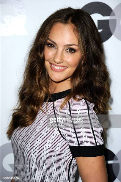ActressMinka Kelly arrives at the 16th Annual GQ Men Of The Year Party at Chateau Marmont on November 17 2011 in Los Angeles California