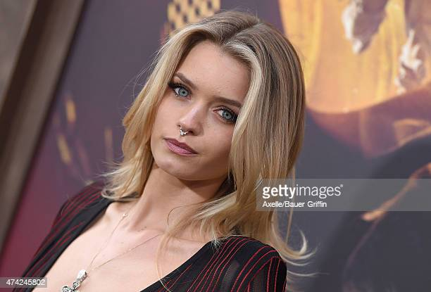 Actress/model Abbey Lee Kershaw arrives at the Los Angeles premiere of 'Mad Max: Fury Road' at TCL Chinese Theatre IMAX on May 7, 2015 in Hollywood,...