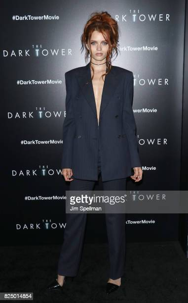 Actress/model Abbey Lee Kershaw attends 'The Dark Tower' New York premiere at Museum of Modern Art on July 31 2017 in New York City