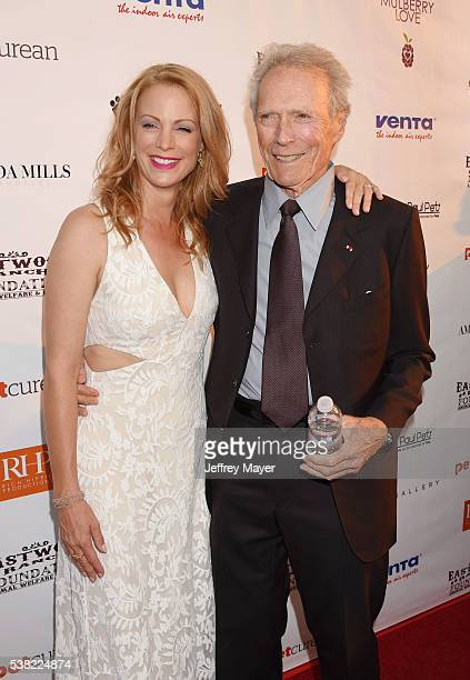 Actress/model Alison Eastwood and father actor/director Clint Eastwood attend the 2nd Annual Art for Animals fundraiser art event hosted by Alison...