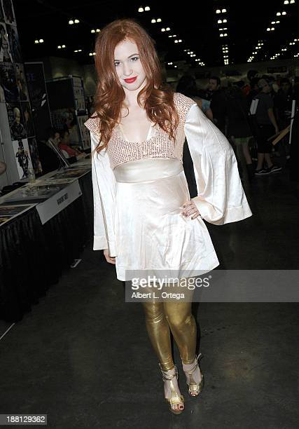 Actress/model Alix Maria attends Stan Lee's Comikaze Expo Presented By POW Entertainment Day 1 held at Los Angeles Convention Center on November 1...