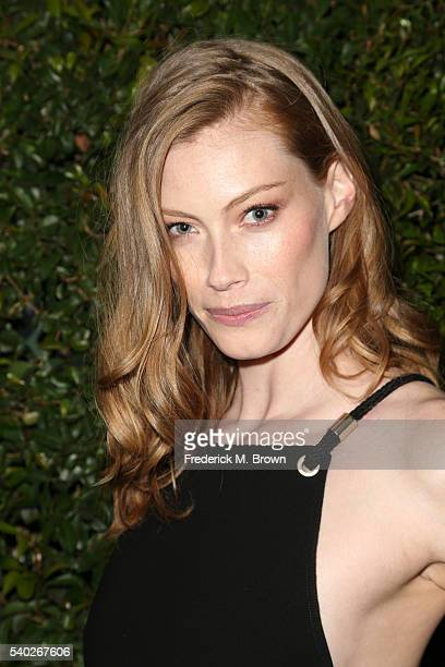 Actress/model Alyssa Sutherland attends Max Mara Celebrates Natalie Dormer The 2016 Women in Film Max Mara Face of the Future at Chateau Marmont on...