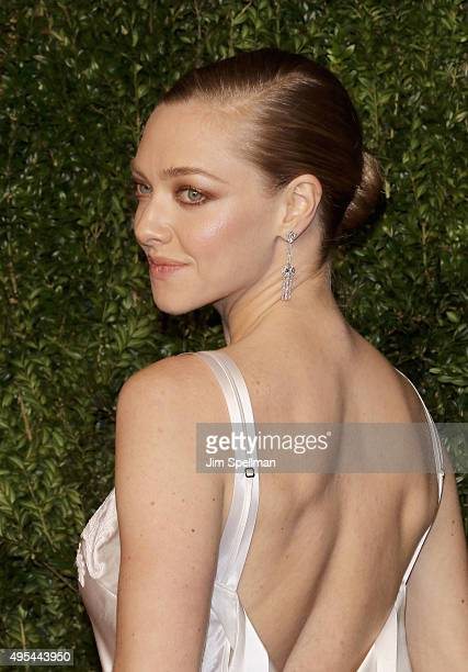 Actress/model Amanda Seyfried attends the 12th annual CFDA/Vogue Fashion Fund Awards at Spring Studios on November 2 2015 in New York City