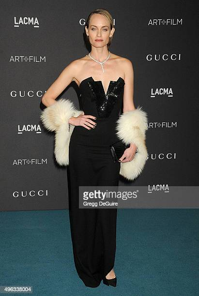 Actress/model Amber Valletta arrives at the LACMA 2015 ArtFilm Gala Honoring James Turrell And Alejandro G Inarritu Presented By Gucci at LACMA on...