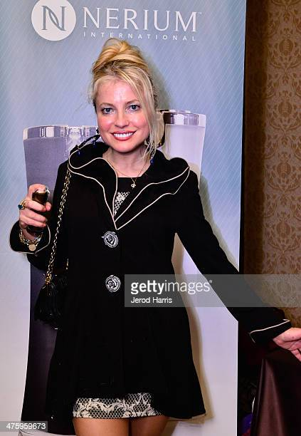 Actress/model Anna Kulinova attends The 2014 Red Carpet Style Lounge In Honor of The 86th Academy Award Nominees Presented By Secret Room Events at...