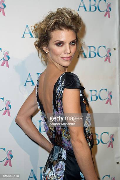 Actress/model AnnaLynne McCord attends Associates for Breast and Prostate Cancer Studios 25th Annual Talk of the Town Black Tie Gala at The Beverly...