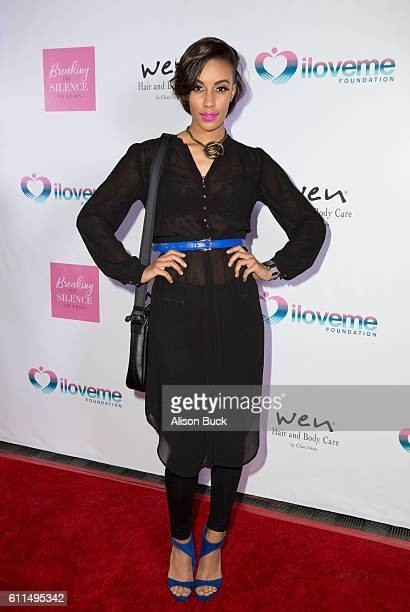 Actress/model AzMarie Livingston attends the 2016 Breaking The Silence Awards at Andaz on September 29 2016 in West Hollywood California