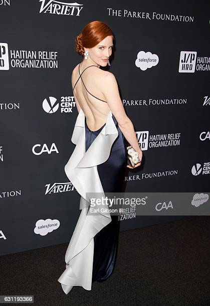 Actress/model Barbara Meier attends the 6th Annual Sean Penn Friends HAITI RISING Gala Benefiting J/P Haitian Relief Organization at Montage Beverly...