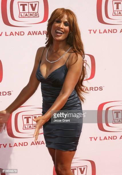Actress/model Beverly Johnson arrives at the 6th annual TV Land Awards held at Barker Hangar on June 8 2008 in Santa Monica California