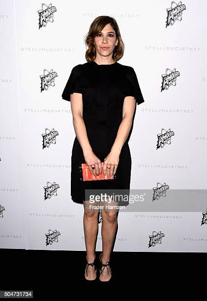 Actress/model Carrie Brownstein attends Stella McCartney Autumn 2016 Presentation at Amoeba Music on January 12 2016 in Los Angeles California