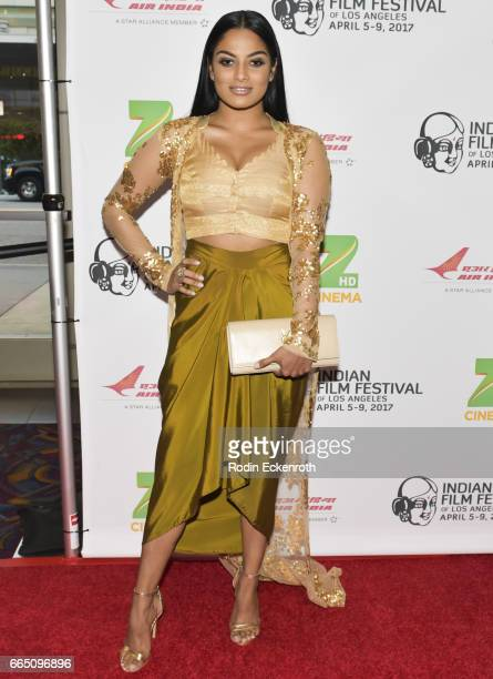 Actress/model Chandrika Ravi attends the 15th Annual Indian Film Festival of Los Angeles opening night at Regal LA Live Stadium 14 on April 5 2017 in...