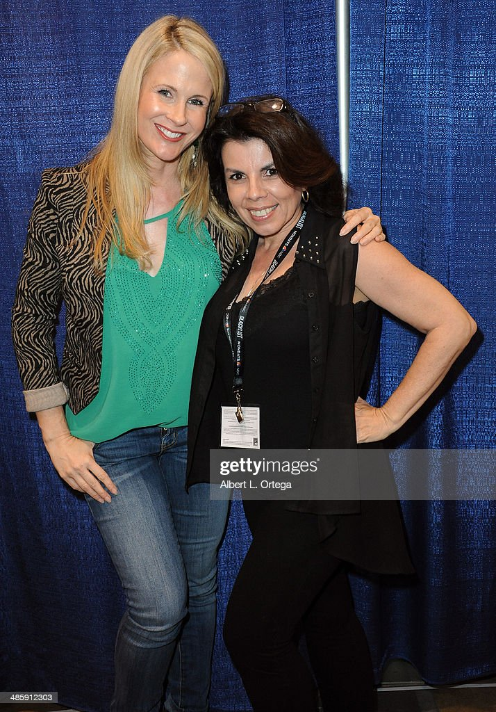 Actress/model Chanel Ryan and actress Marilyn Ghigliotti attends WonderCon Anaheim 2014 - Day 3 held at Anaheim Convention Center on April 20, 2014 in Anaheim, California.