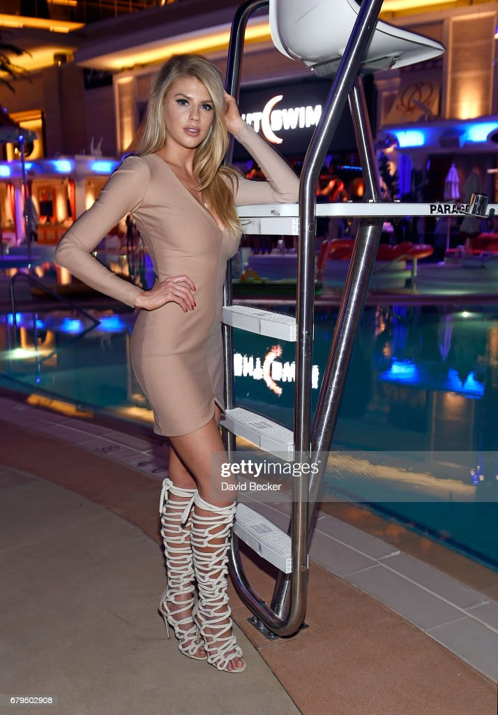 Actress/model Charlotte McKinney attends the grand opening of NightSwim at Encore Beach Club at Wynn Las Vegas on May 5, 2017 in Las Vegas, Nevada.