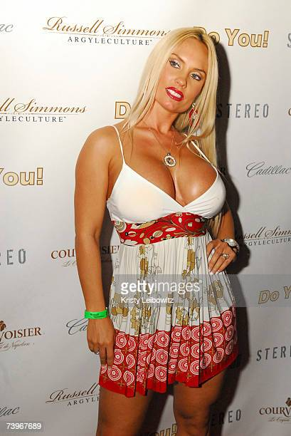 Actress/Model Coco attends hiphop mogul Russell Simmons party for his new book release called Do You at Stereo on April 24 2004 in New York City