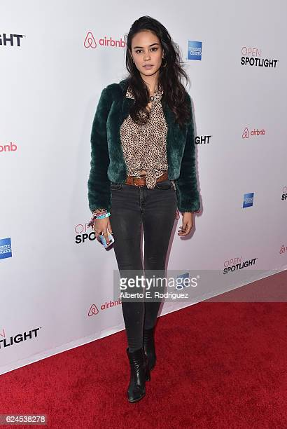 Actress/model Courtney Eaton attends the 3rd Annual Airbnb Open Spotlight at Various Locations on November 19 2016 in Los Angeles California