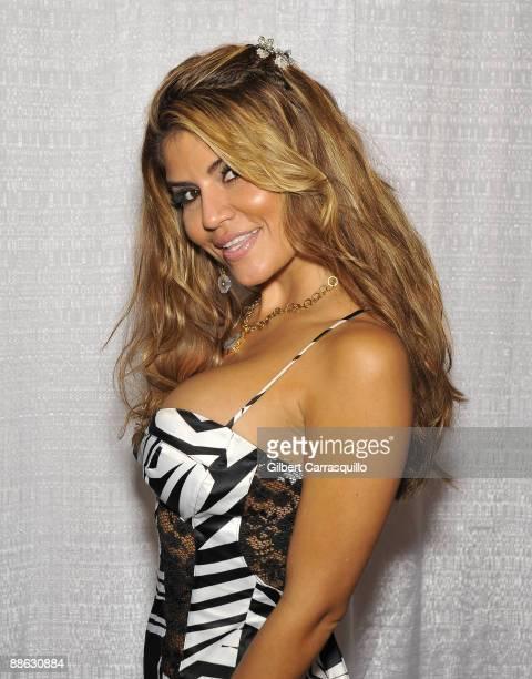 8e4dacc74 Actress Model Dazza Del Rio attends the Wizard World convention at the  Pennsylvania Convention Center
