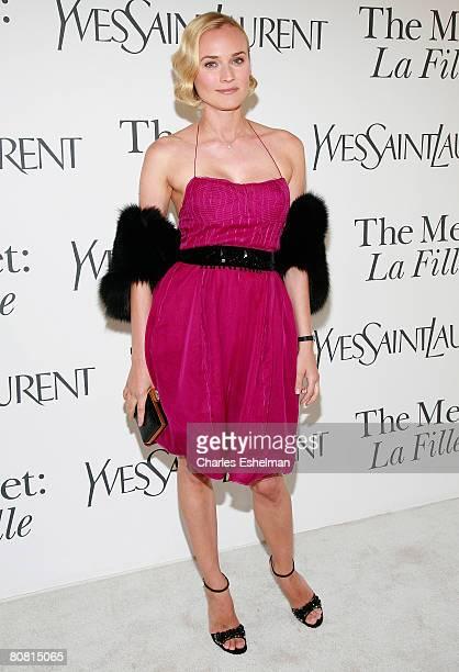 """Actress/model Diane Kruger arrives at the Metropolitan Opera """"La Fille Du Regiment"""" opening night at The Metropolitan Opera, Lincoln Center on April..."""