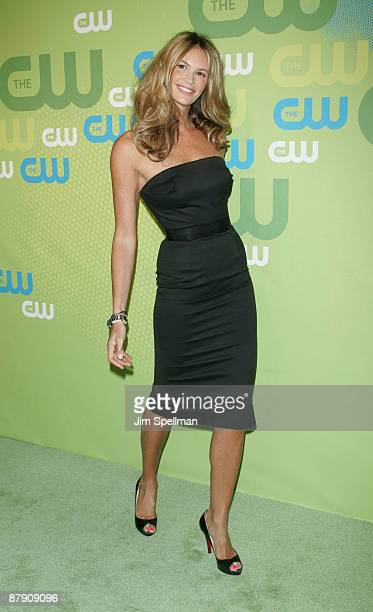Actress/model Elle Macpherson attends the 2009 The CW Network UpFront at Madison Square Garden on May 21 2009 in New York City