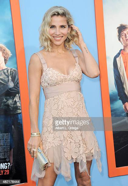 """Actress/model Elsa Pataky arrives for the Premiere Of Warner Bros. Pictures' """"Vacation"""" held at Regency Village Theatre on July 27, 2015 in Westwood,..."""