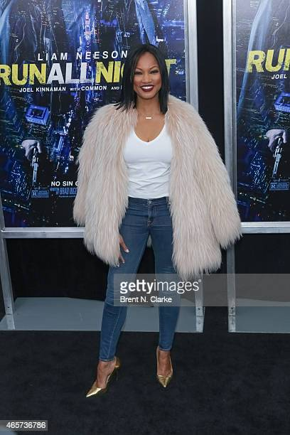 Actress/model Garcelle Beauvais arrives for the Run All Night New York Premiere at AMC Lincoln Square Theater on March 9 2015 in New York City