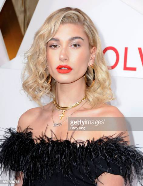 Actress/model Hailey Baldwin attends #REVOLVEawards at DREAM Hollywood on November 2 2017 in Hollywood California