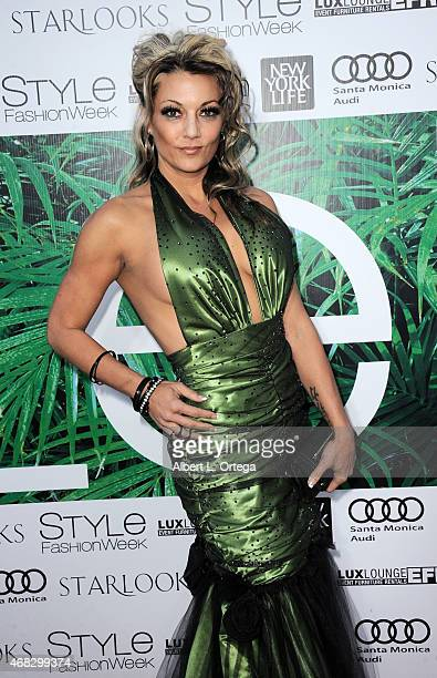 Actress/model Heather Chadwell at the 2015 Los Angeles Style Fashion Week held at The Reef on March 21 2015 in Los Angeles California