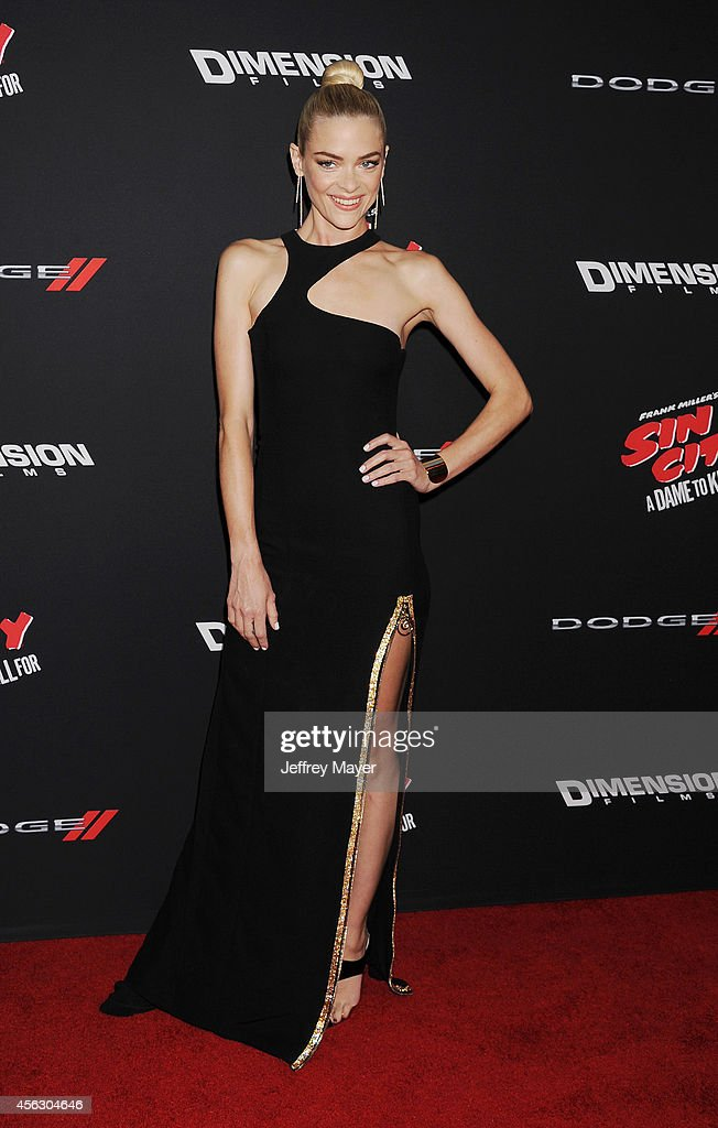 Actress/model Jaime King arrives at the 'Sin City: A Dame To Kill For' - Los Angeles Premiere at TCL Chinese Theatre on August 19, 2014 in Hollywood, California.