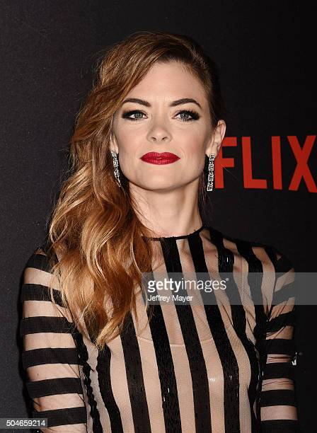 Actress/model Jaime King attends The Weinstein Company and Netflix Golden Globe Party presented with DeLeon Tequila Laura Mercier Lindt Chocolate...