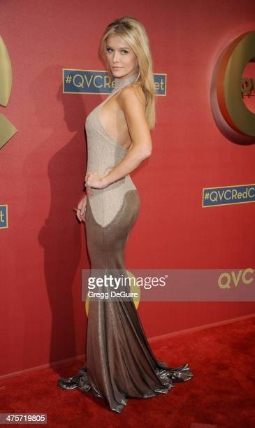 Actress/model Joanna Krupa arrives at the QVC 5th Annual Red Carpet Style event at The Four Seasons Hotel on February 28 2014 in Beverly Hills...