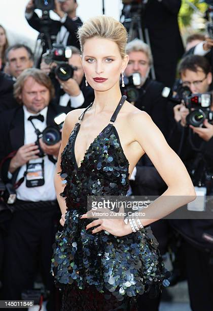 Actress/model Karolina Kurkova arrives at Killing Them Softly Premiere during the 65th Annual Cannes Film Festival at Palais des Festivals on May 22...