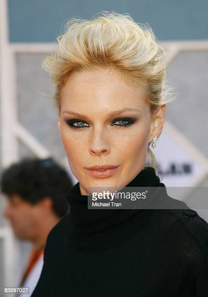 Actress/model Kate Nauta arrives at the world premiere of The Game Plan at the El Capitan Theatre September 23 2007 in Hollywood California