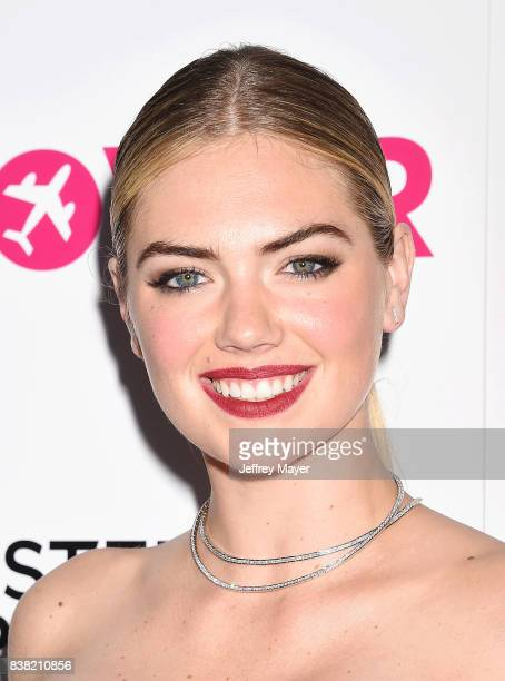 Actress/model Kate Upton arrives at the Premiere of DIRECTV And Vertical Entertainment's 'The Layover' at ArcLight Hollywood on August 23 2017 in...