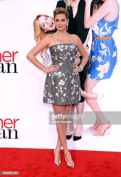 Actress/model Kate Upton attends the premiere of Twentieth Century Fox's The Other Woman at Regency Village Theatre on April 21 2014 in Westwood...