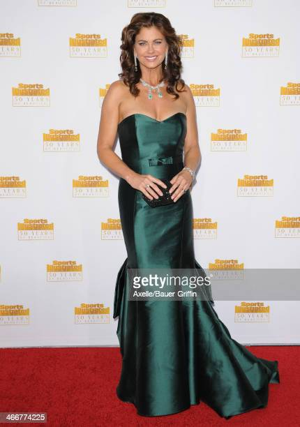 Actress/model Kathy Ireland arrives at NBC And Time Inc Celebrate 50th Anniversary Of Sports Illustrated Swimsuit Issue at Dolby Theatre on January...