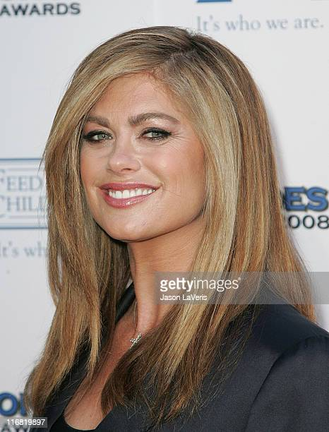Actress/model Kathy Ireland attends the The 2008 Hero Awards at the Universal Hilton on June 6 2008 in Universal City California