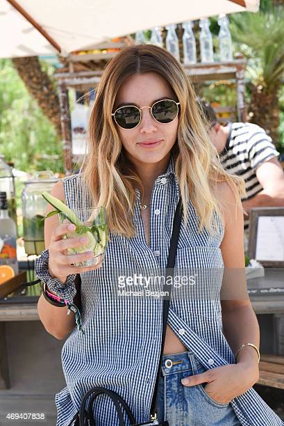 Actress/Model Keeley Hazell attends Riviera Brunch hosted by GREY GOOSE at Soho Desert House on April 11 2015 in La Quinta California