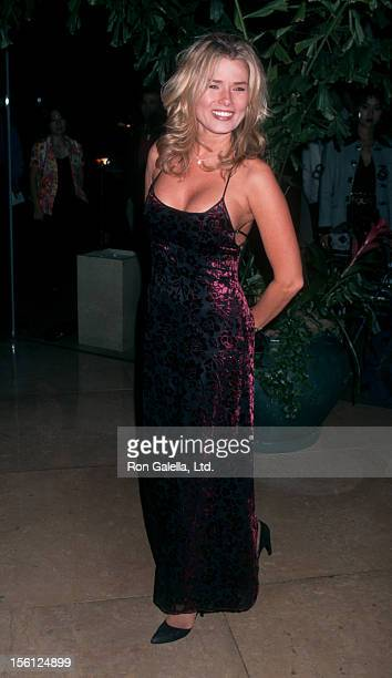 Actress/Model Kimber Sissons attending 11th Annual American Cinematheque Awards Honoring Tom Cruise on September 21 1996 at the Beverly Hilton Hotel...