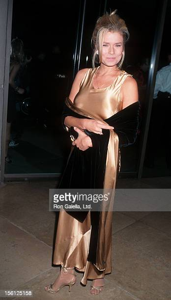 Actress/Model Kimber Sissons attending 12th Annual American Cinematheque Awards Honoring John Travolta on September 13 1997 at the Beverly Hilton...