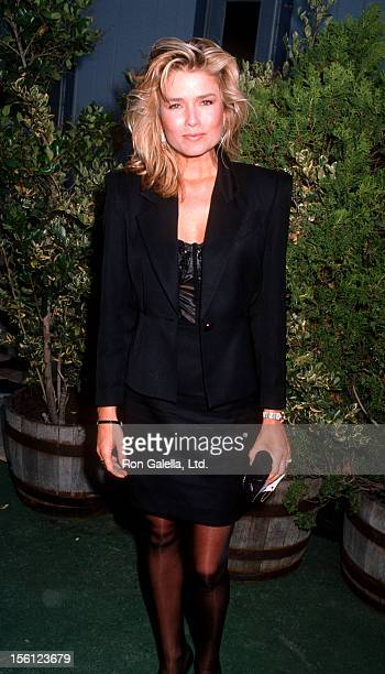 Actress/Model Kimber Sissons attending 'All Star Pro Sports Challenge' on June 25 1990 at the Universal Ampitheater in Universal City California