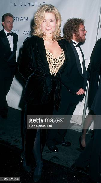 Actress/Model Kimber Sissons attending Eighth Annual Fire and Ice Ball on December 3 1997 at Paramount Studios in Hollywood California