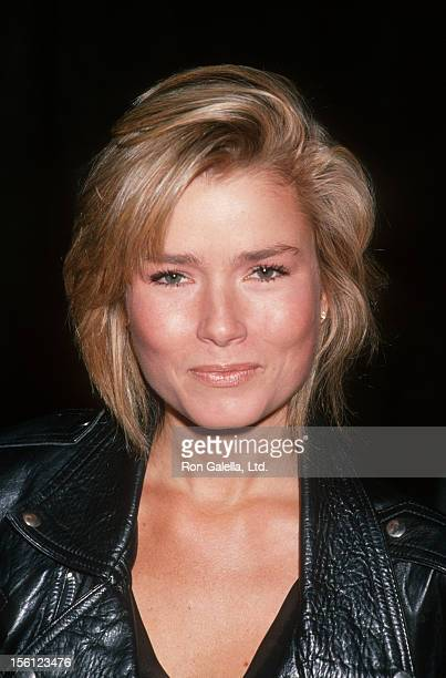 Actress/Model Kimber Sissons attending 'Halloween For Hope Benefit' on October 28 1989 at 20th Century Fox Studios in Century City Califonia
