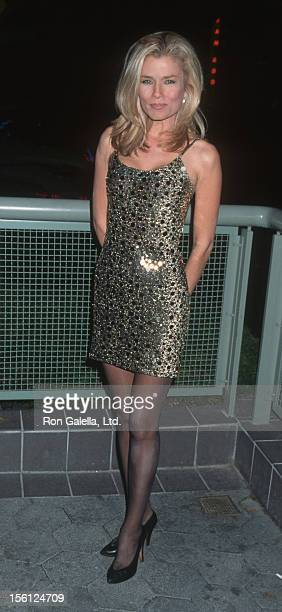 Actress/Model Kimber Sissons attending 'Party for Baywatch Nights' on December 15 1995 at BB King's Blues Club in Universal City California