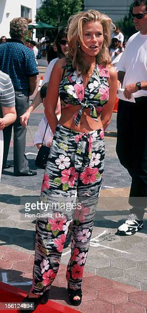 Actress/Model Kimber Sissons attending the premiere of 'Flipper' on May 5 1996 at the Cineplex Odeon Cinema in Century City California