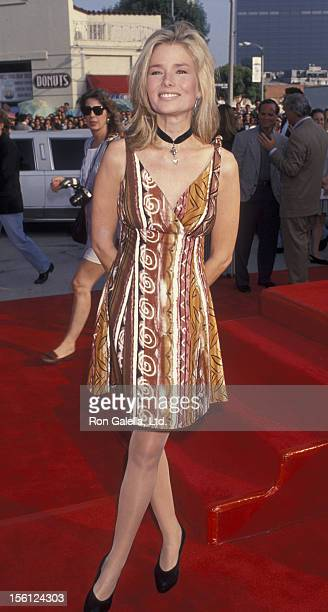 Actress/Model Kimber Sissons attending the premiere of 'Last Action Hero' on June 13 1993 at Mann Village Theater in Westwood California