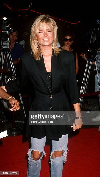 Actress/Model Kimber Sissons attending the premiere of 'Young Guns 2' on July 30 1990 at Mann Chinese Theater in Hollywood California