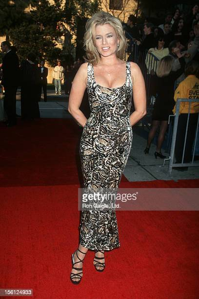 Actress/Model Kimber Sissons attending Third Annual Screen Actor's Guild of America Awards on February 23 1997 at the Shrine Auditorium in Los...