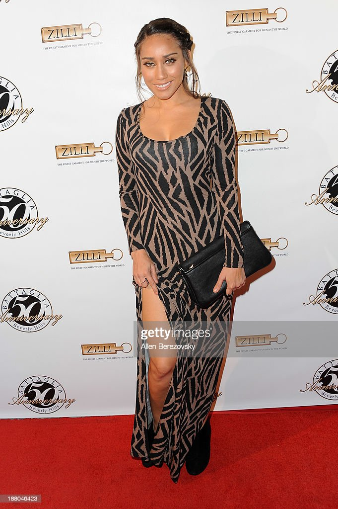 Actress/model Korrina Rico attends the Battaglia's 50th Anniversary of Quality & Elegance Celebration on November 14, 2013 in Beverly Hills, California.