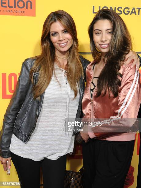 Actress/model Lianna Grethel and daughter Valentina attends premiere of Pantelion Films' 'How To Be A Latin Lover' at ArcLight Cinemas Cinerama Dome...